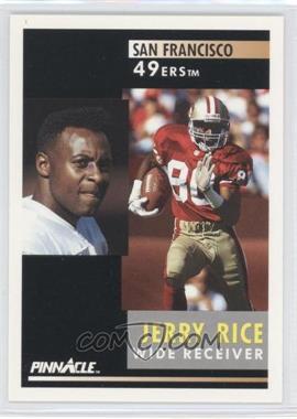 1991 Pinnacle #103 - Jerry Rice