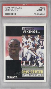 1991 Pinnacle #125 - Cris Carter [PSA 9]