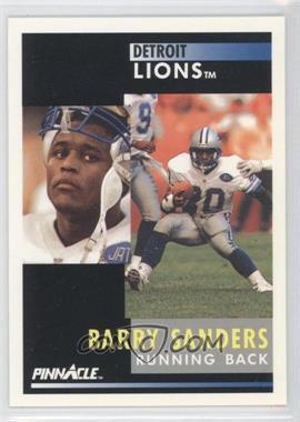 1991 Pinnacle #250 - Barry Sanders