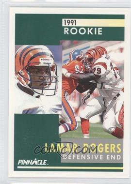 1991 Pinnacle #329 - Lamar Rogers