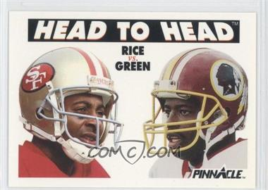 1991 Pinnacle #355 - Jerry Rice, Darrell Green