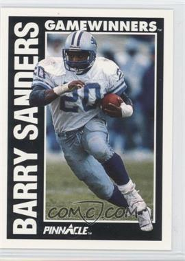 1991 Pinnacle #366 - Barry Sanders