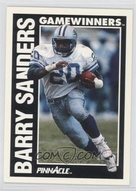 1991 Pinnacle #366 - Barry Sanders