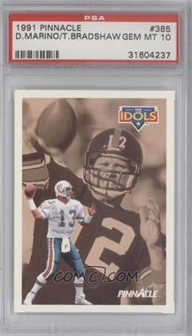 1991 Pinnacle #385 - Dan Marino, Ted Banker [PSA10]