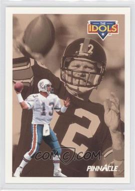 1991 Pinnacle #385 - Dan Marino, Terry Bradshaw