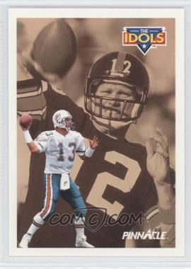 1991 Pinnacle #385 - Dan Marino, Terry Bradshaw