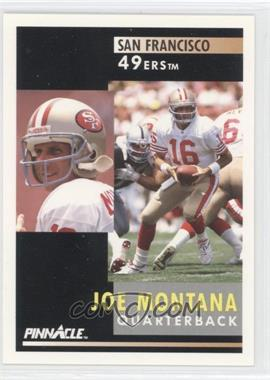1991 Pinnacle #66 - Joe Montana