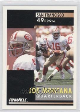 1991 Pinnacle #66 - Joe Montana