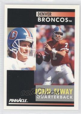 1991 Pinnacle #7 - John Elway
