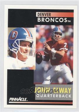 1991 Pinnacle #7 - John Elway