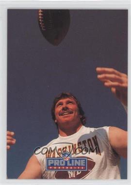 1991 Pro Line Portraits Autographs #DOWA - Don Warren