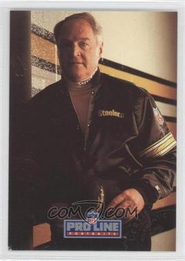 1991 Pro Line Portraits Autographs #N/A - Chuck Noll