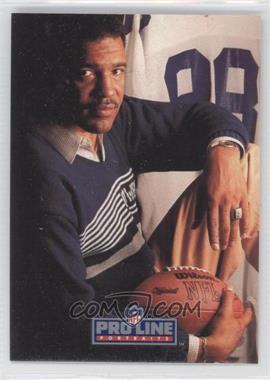 1991 Pro Line Portraits Autographs #N/A - Drew Pearson
