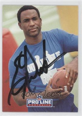 1991 Pro Line Portraits Autographs #N/A - Eric Dickerson