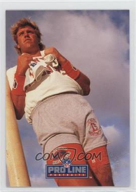 1991 Pro Line Portraits Punt, Pass and Kick #4 - John Elway