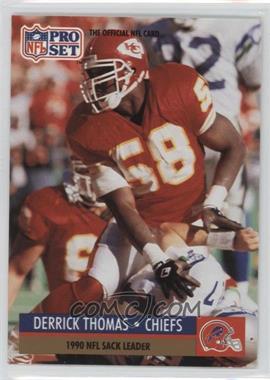 1991 Pro Set - [Base] #19.1 - Derrick Thomas (Error: Buffalo Bills Helmet on Front)