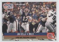 Jim Kelly (Error: No NFLPA Logo on back)