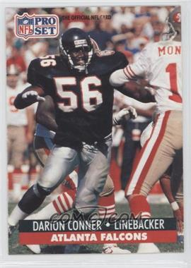 1991 Pro Set - [Base] #92.1 - Darion Conner (Error: 1st Round '99)