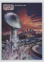 Super Bowl XXVI Art