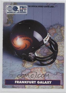 1991 Pro Set - WLAF Helmets #3 - Frankfurt Galaxy (WLAF) Team