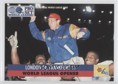 1991 Pro Set - WLAF Inserts #2 - London 24, Frankfurt 11
