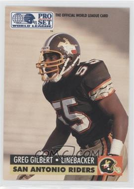 1991 Pro Set - WLAF Inserts #32 - Grant Gillis