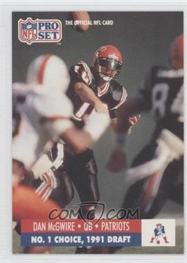 1991 Pro Set Draft Day - [Base] #694 - Dan McGwire