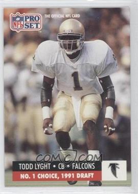 1991 Pro Set Draft Day - [Base] #694 - Todd Lyght