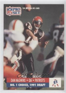 1991 Pro Set Draft Day #694 - Dan McGwire