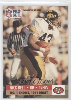 1991 Pro Set Draft Day #694 - Nick Bell