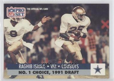1991 Pro Set Draft Day #694 - Rocket Ismail