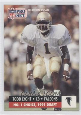 1991 Pro Set Draft Day #694 - Todd Lyght