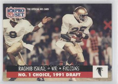 1991 Pro Set Draft Day #694.1 - Rocket Ismail (Atlanta)