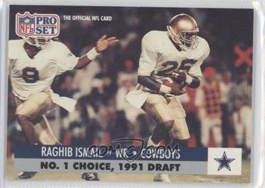1991 Pro Set Draft Day #694.2 - Rocket Ismail (Dallas)