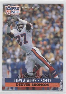1991 Pro Set Mobil FACT - [Base] #136 - Steve Atwater