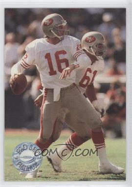 1991 Pro Set Platinum #139 - Joe Montana