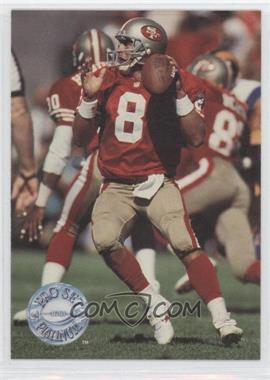 1991 Pro Set Platinum #271 - Steve Young