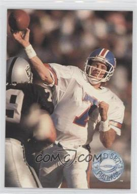 1991 Pro Set Platinum #28 - John Elway