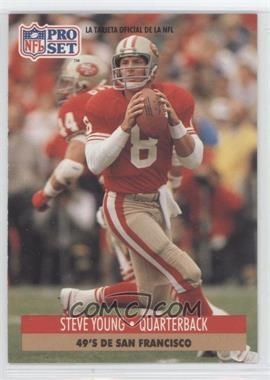 1991 Pro Set Spanish - [Base] #225 - Steve Young