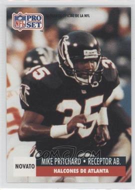1991 Pro Set Spanish - [Base] #260 - Mike Pritchard