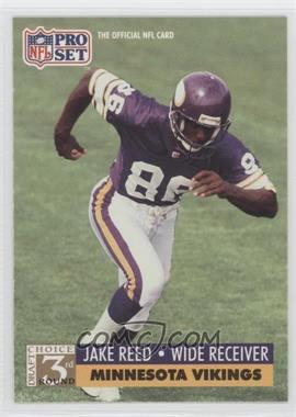 1991 Pro Set Spanish - [Base] #276 - Jake Reed
