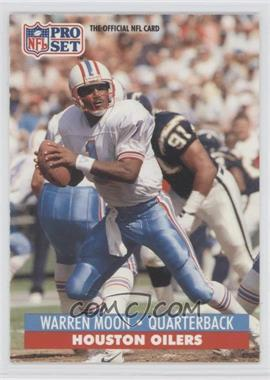 1991 Pro Set Spanish - [Base] #90 - Warren Moon