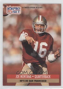 1991 Pro Set Spanish #221 - Joe Montana