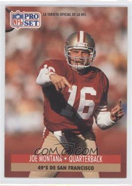 1991 Pro Set Spanish #221 - Joe Montana