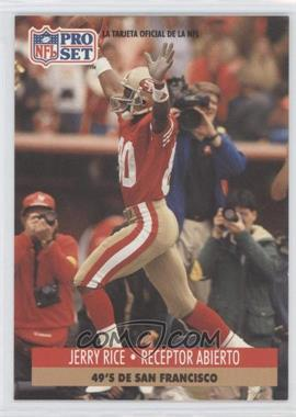 1991 Pro Set Spanish #222 - Jerry Rice