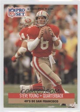 1991 Pro Set Spanish #225 - Steve Young