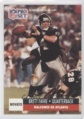 1991 Pro Set Spanish #262 - Brett Favre