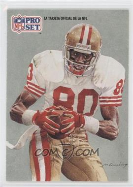 1991 Pro Set Spanish #280 - Jerry Rice