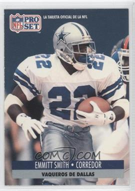 1991 Pro Set Spanish #54 - Emmitt Smith