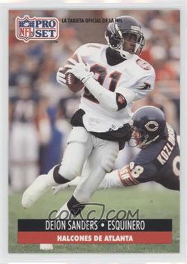 1991 Pro Set Spanish #8 - Deion Sanders